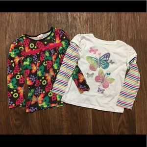 Ladybugs and butterflies 3T bundle of two
